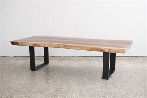 live edge table for sale mid century modern live edge coffee table for sale at