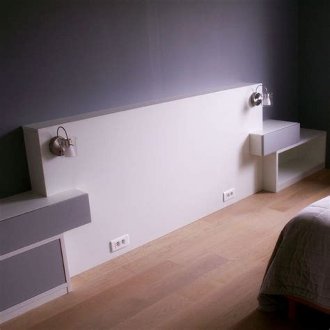 tete de lit table de nuit 22 best agencement de chambre images on