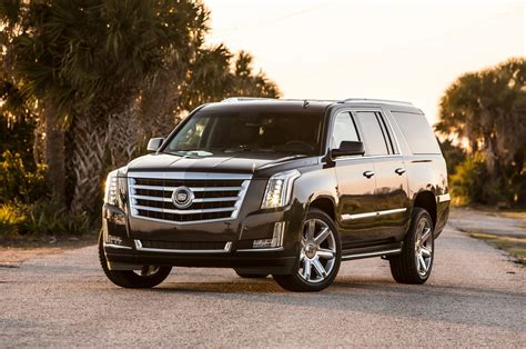 new 2015 cadillac escalade 2015 cadillac escalade esv first test motor trend