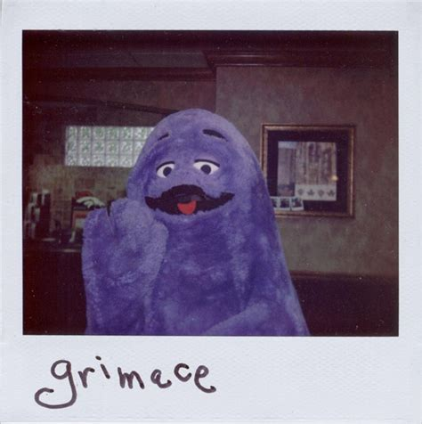 the 15 most surreal pictures of grimace ever