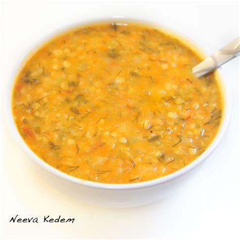 red lentil vegetable soup recipe dishmaps