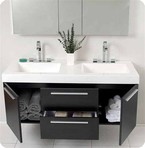Modern Floating Vanities floating bathroom vanities new york by