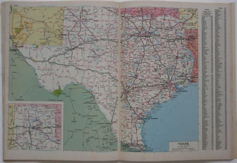 road atlas usa map 1984 rand mcnally road atlas united states highway maps