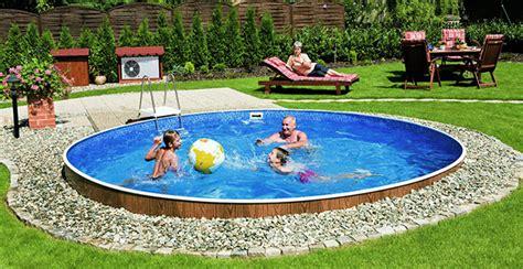 piscine smontabili da giardino consigli per interrare una piscina fuori terra piscine