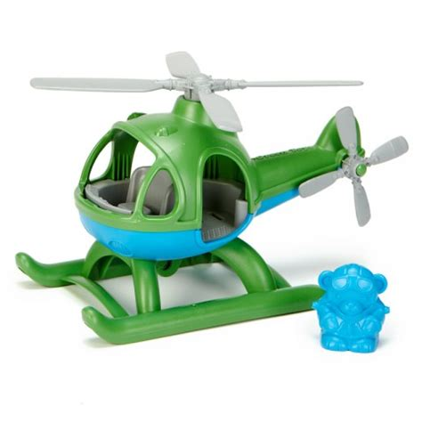 speelgoed ecocheques helicopter 2j green toys kudzu eco webshop