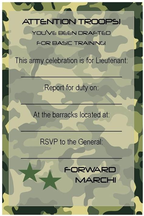25 best ideas about army birthday parties on pinterest