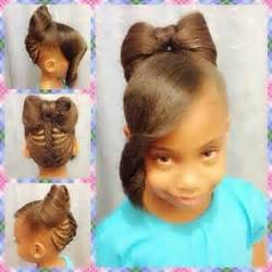 Bow hairstyles hairstyles for kids and hairstyles on pinterest