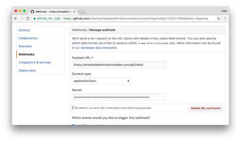 github webhooks tutorial how to handle github webhooks using django