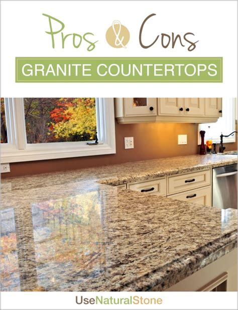 Pros Cons Granite Countertops kitchen archives use
