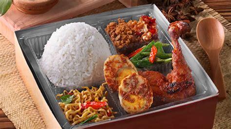 catering snack box  nasi kotak
