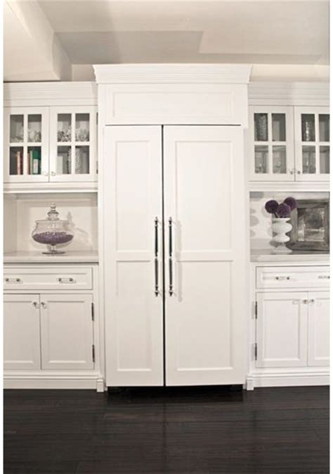 cabinet panel front refrigerator when it comes to a seamless transition from cabinets to appliances custom paneling on the front