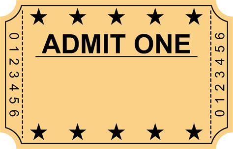 ticket stub royalty free vector image vectorstock