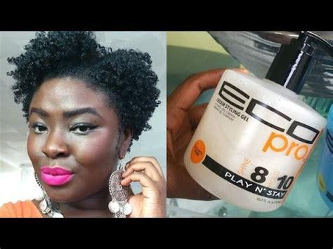 4b 4c natural hair | *new* eco styler cream styling gel