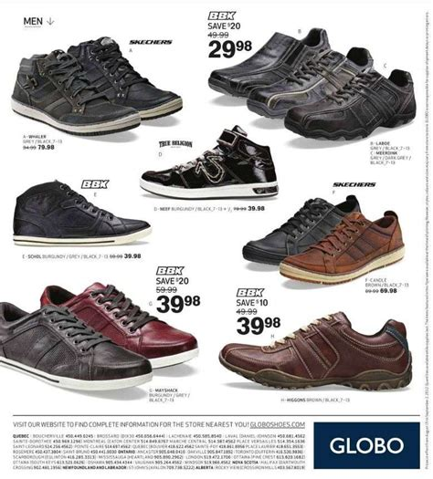 globo shoes flyer aug 15 to sep 2