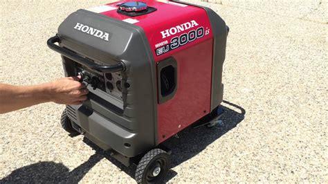 Honda Eu3000 by Honda Eu3000is Quietest Generator Eu3000 3000w