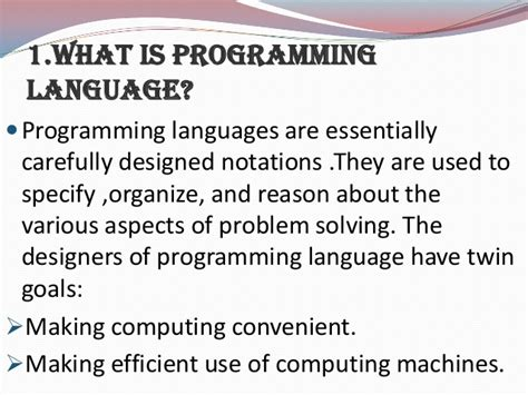 design is a language programming language design and implemenation