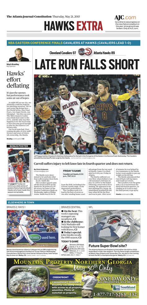 the plain dealer sports section compare sports front pages of plain dealer atlanta