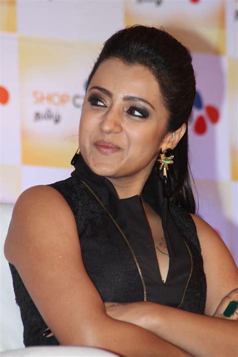 Trisha Dress Black tamil trisha stills in black dress tollywood