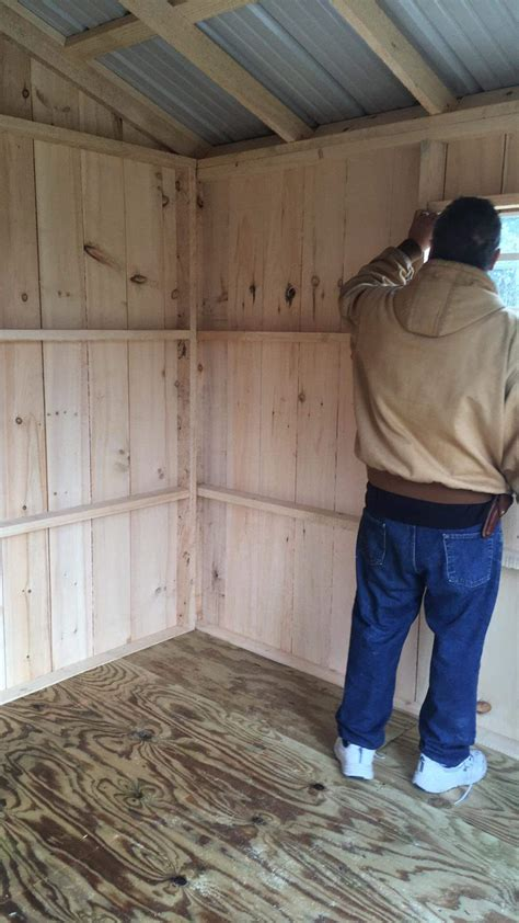 insulate shed cabin insulation diy chatroom home
