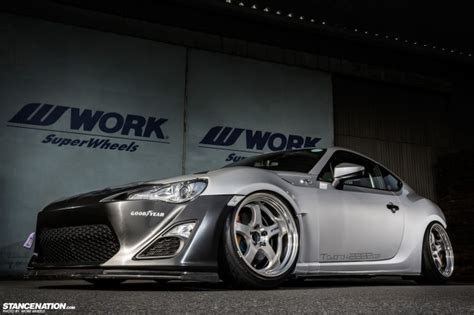 subaru frs stanced japanese creation daisuke s awesome toyota 86