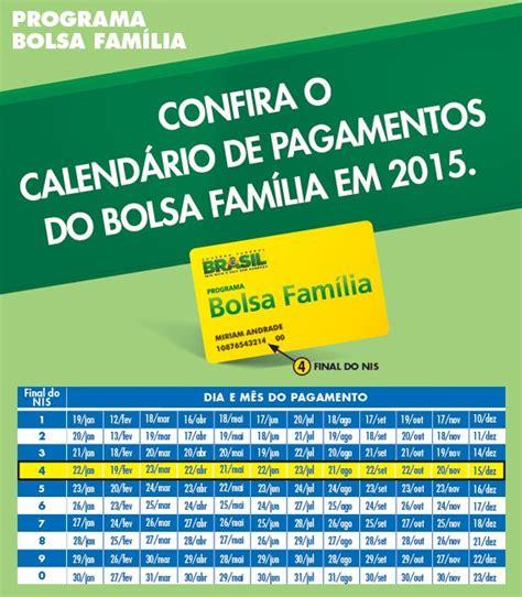 O Calendario Da Bolsa Familia 2015 Calend 225 Do Bolsa Fam 237 Lia 2015 Bolsa Fam 237 La