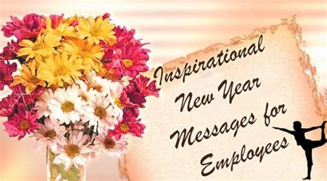 inspirational  year messages  employees  year wishes