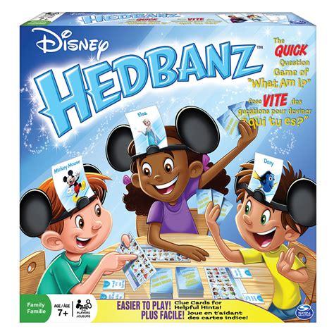 spin master games disney hedbanz  edition board game