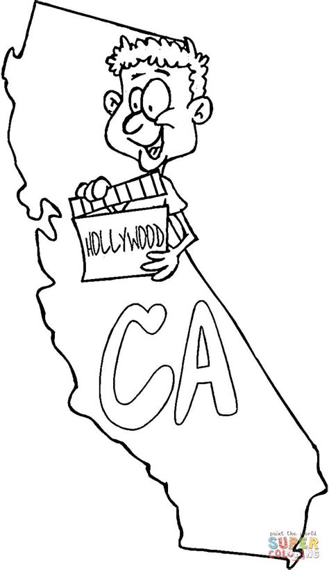 coloring page map of california california map coloring page free printable coloring pages