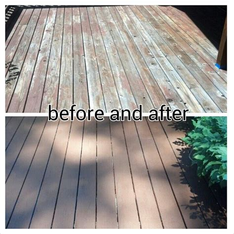 my deck before and after using rustoleum restore in chocolate brown amazing yard