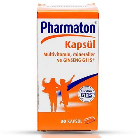 Pharmaton Ginseng pharmaton 30 kaps 252 l fiyatı ve yorumları fitbull