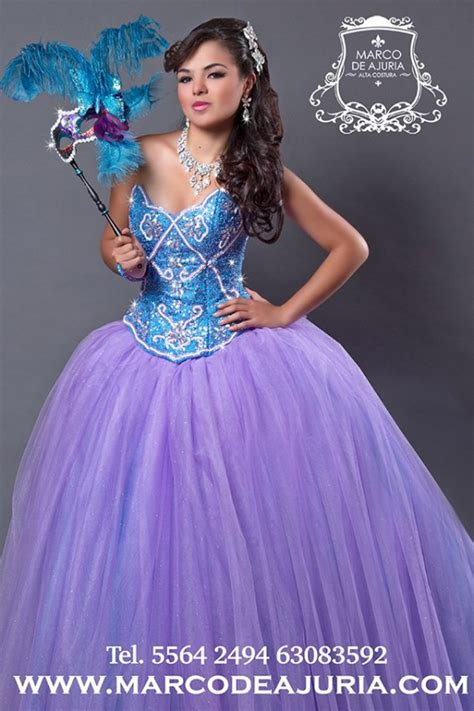 Csl Dres Brokat 901 mexican quinceanera dresses designers you must about