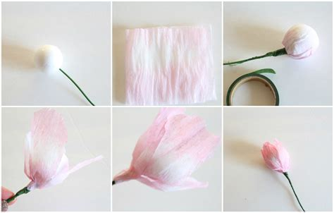 How To Make Paper Tulips - crepe paper tulip tutorial craftberry bush bloglovin