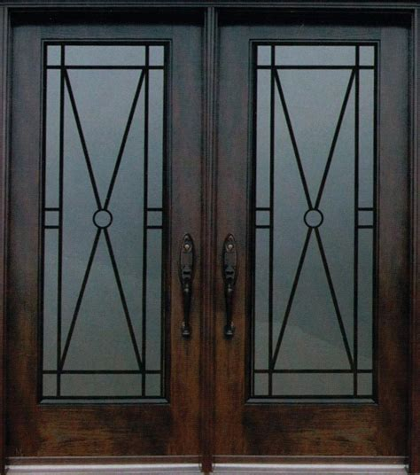 decorative door inserts decorative wrought iron front doors inserts toronto