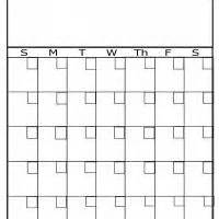 plain calendar template plain monthly calendar printable calendar template 2016