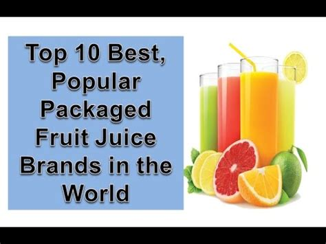 fruit juice brands top 10 best popular packaged fruit juice brands in the