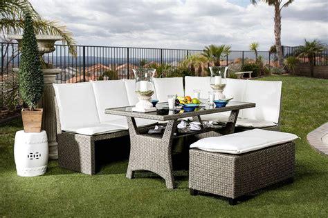 wisheka 3 patio dining set furniture of america