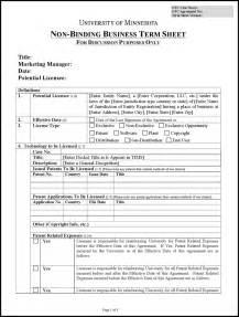 term sheet template free free term sheet template word formxls