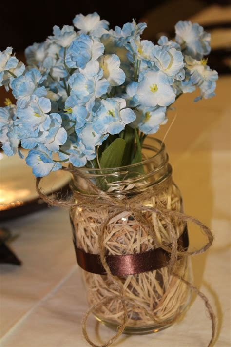 Western / Rustic Table Centerpiece   Western Theme Party