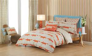 mr fox stone bedding set by harlequin