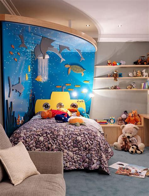 sea themed bedroom under the sea kids room design inspiration