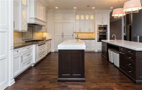 double kitchen islands double island kitchen ovation cabinetry