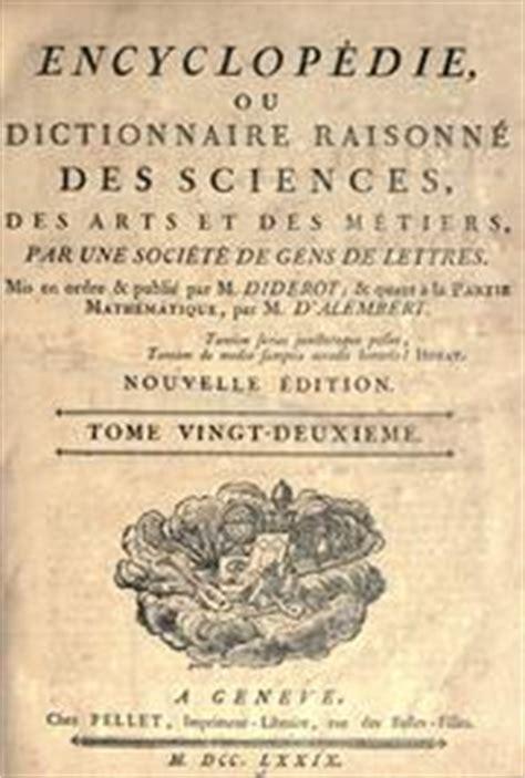 chi erano gli illuministi encyclop 233 die ou dictionnaire raisonn 233 des sciences des