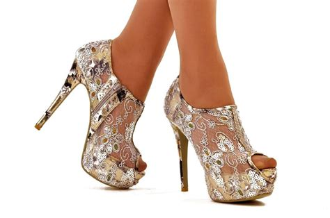 Heeghheels Shoes Gobe cinderella leopard platform high heel shoes worldwide