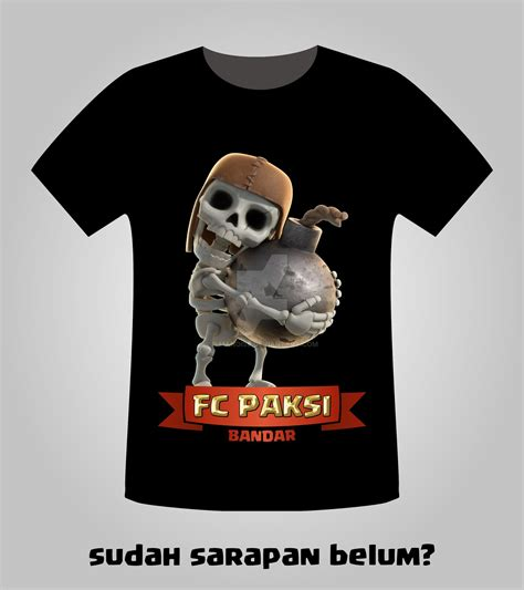 paksi clash of clans t shirt by ilmanoise on deviantart