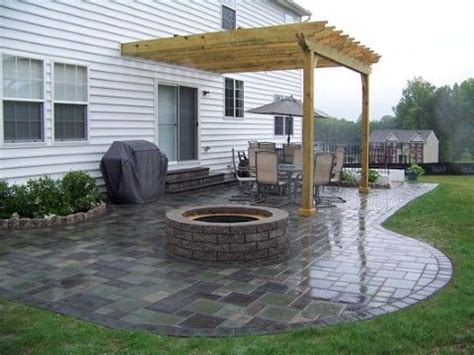 backyard patio pavers paver patio design ideas patio base pinterest