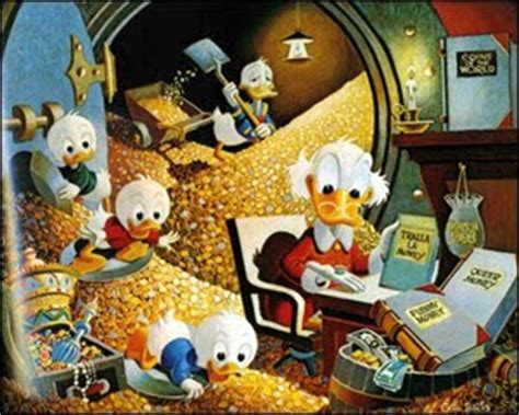 Komik Paman Gober Donald Duck 04 way of dentro da mochila time is money