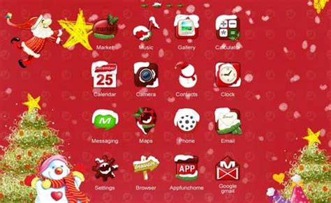 christmas themes apps free christmas themes live wallpapers for your android