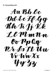 letterattack brush lettering guide frau h 246 lle