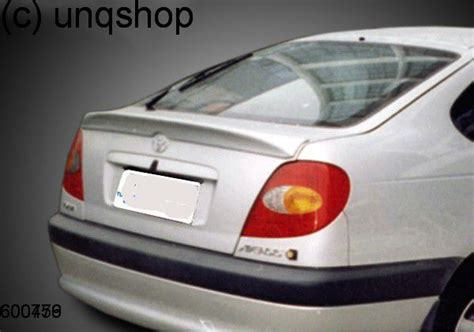Toyota Avensis Mk1 Boot Spoiler Toyota Avensis Mk1 T22 Only For Hatchback