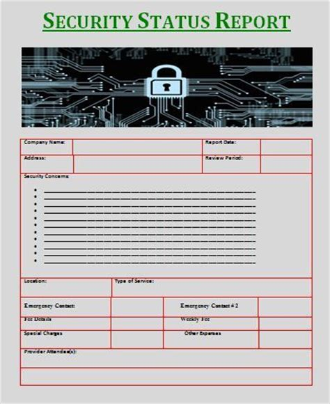production status report template daily reports free reports
